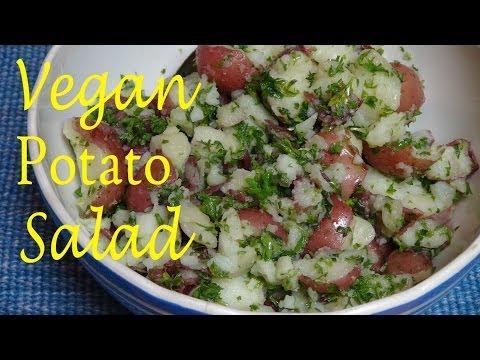 Healthy Red Potato Salad - Vegan Recipe