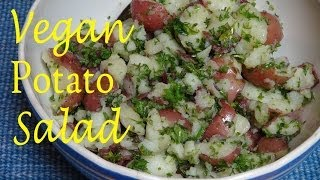 Healthy Red Potato Salad - Vegan Recipe