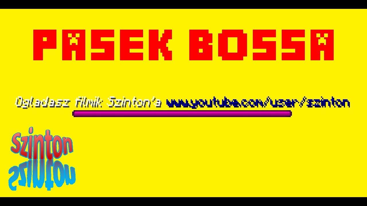 Minecraft Tutorial Kolorowy Pasek Bossa Youtube