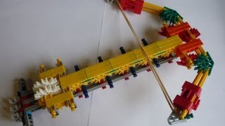 Knex Crossbow Instructions How To Make A Powerful Knexgun