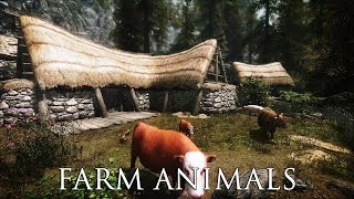 TES V - Skyrim Mods: Farm Animals