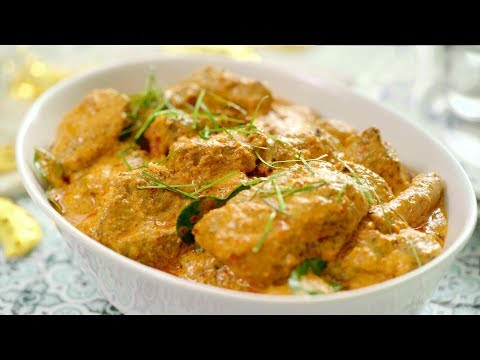 Mutton Curry With Desiccated Coconut | Slow Cooker | Panasonic Cooking