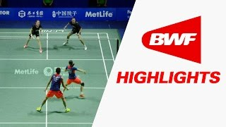 Thaihot China Open 2015 | Badminton F – Highlights