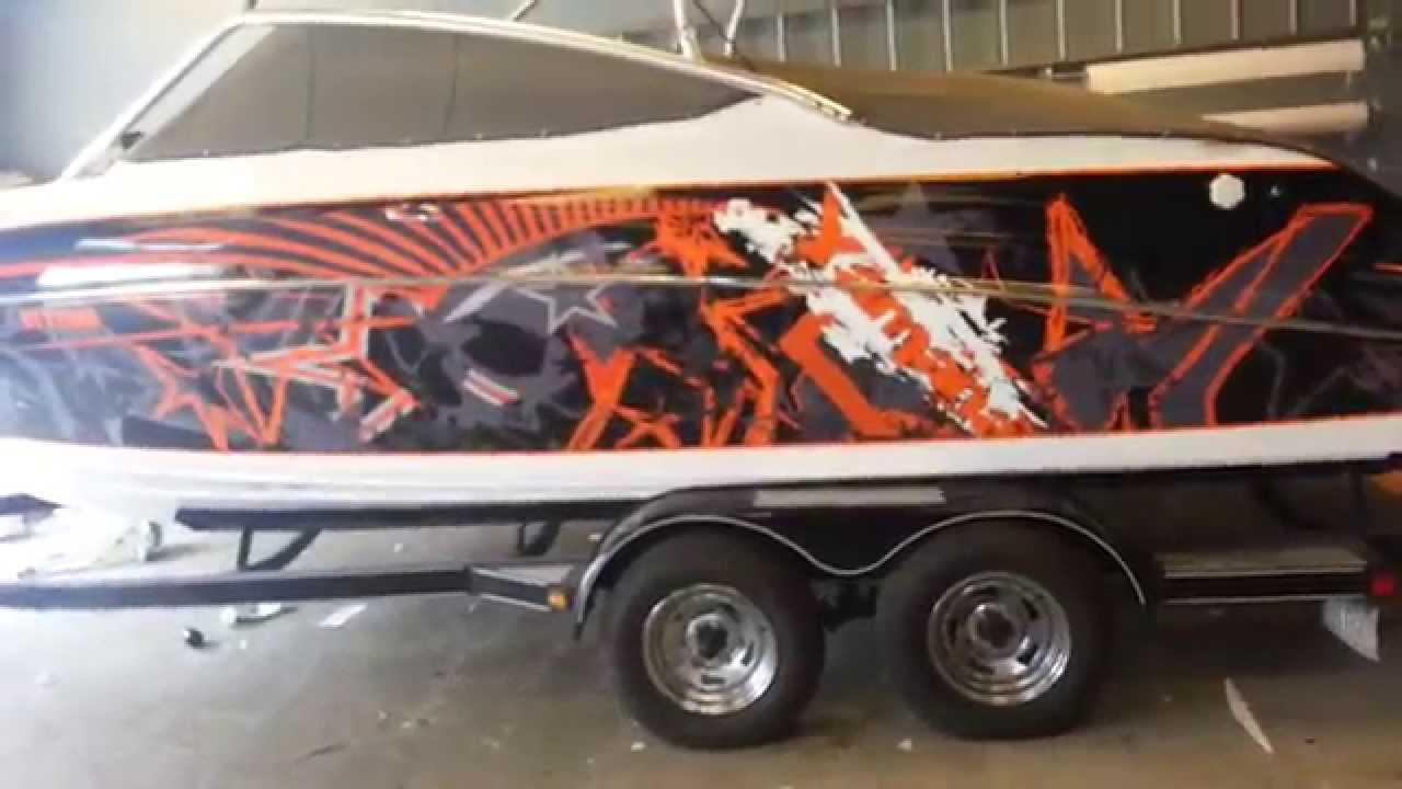 Custom Quot Yamaha Boat Quot Wrap Youtube