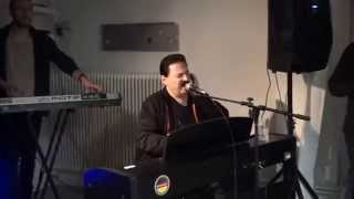 Bobby kimball( ex-singer of toto) rehearsing session in stockholm. 25 march 2015. africa