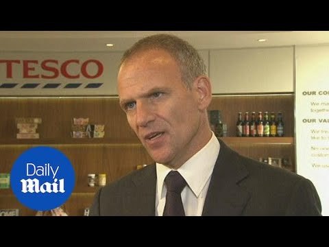 Tesco CEO Dave Lewis confirms £250m mistake - Daily Mail