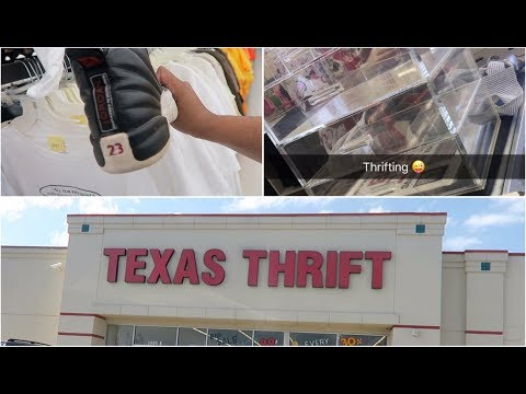 Shop With Me: The Thrift Store #1 | Texas Thrift Stores