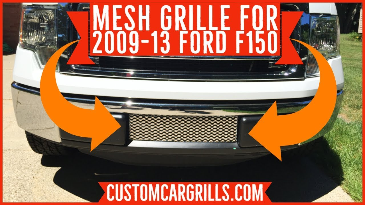 grill lower ford mesh bumper 2009