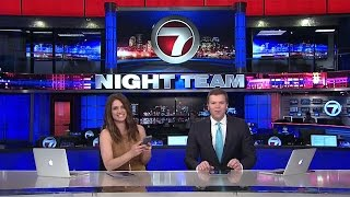 Download Blooper Reel: Kicking Over the Anchor Desk Trash Can / WHDH 7 News Mp3 and Videos