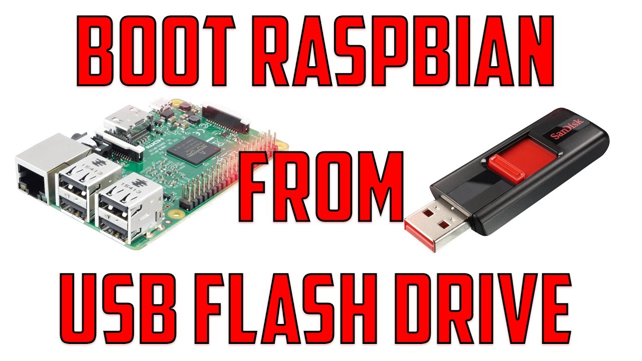 install raspbian on usb hard drive