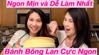 ENG-SUB- BÁNh BÔNG LAN TUYỆT NGON, CÔNG THỨC DỄ LÀM NHẤT - THE BEST Cotton Sponge Cake Recipe👍