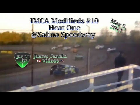 IMCA Modifieds #8, Heat, Salina Speedway, 2017
