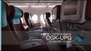 FRP S2E9 - Garuda Indonesia GA616 Flight Experience | Jakarta - Makassar
