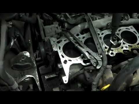 Nissan Liberty двс SR20DE обрыв цепи грм , сборка