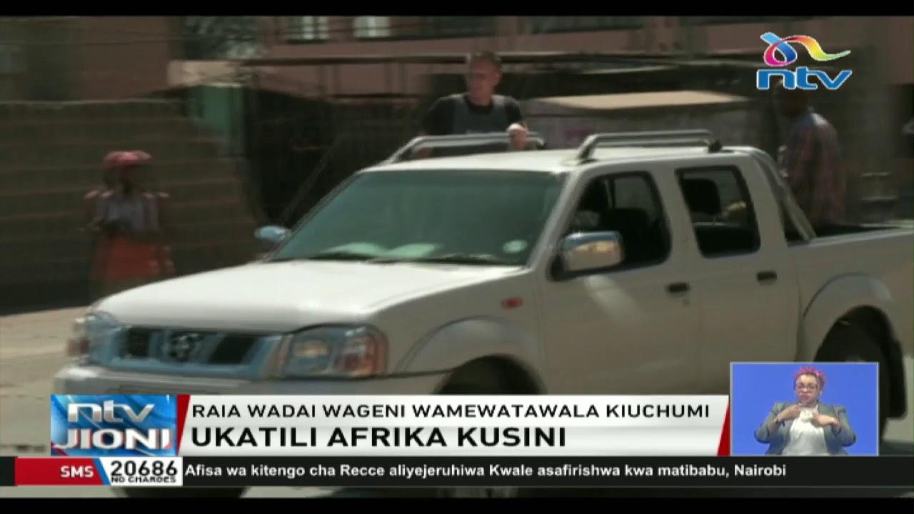 Download Raia wa kigeni washambuliwa na wenyeji Afrika kusini