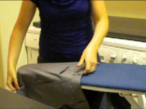 How to Iron Dress Pants