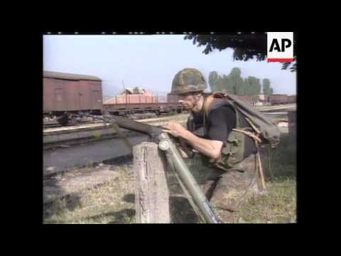 Kosovo: Serb Forces Blast Ethnic Albanians With Mortar Fire - 1998