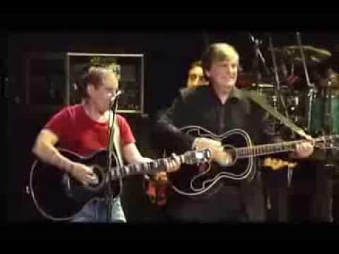Simon & Garfunkel with Everly Brothers - Bye Bye Love (New York 2003)
