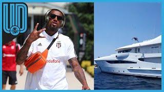 En redes sociales, Boateng, jugador del Besiktas, compartió un video donde cumple el reto al arrojarse al agua desde una lujosa embarcación.
