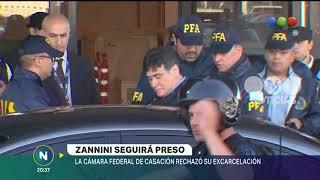 Zannini seguirá preso -Telefe Noticias