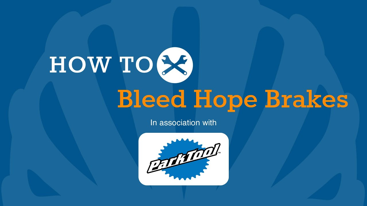 How To Bleed Hope Hydraulic Brakes