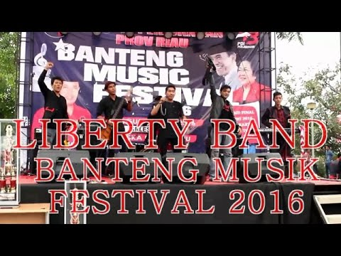 Indonesia Pusaka - (Cover New Aransement) By LIBERTY Band