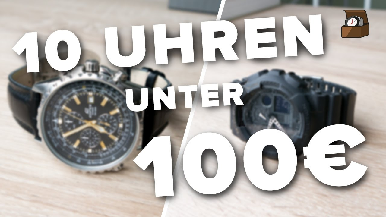 10 uhren unter 100 euro deutsch kaufratgeber 1 fullhd youtube. Black Bedroom Furniture Sets. Home Design Ideas
