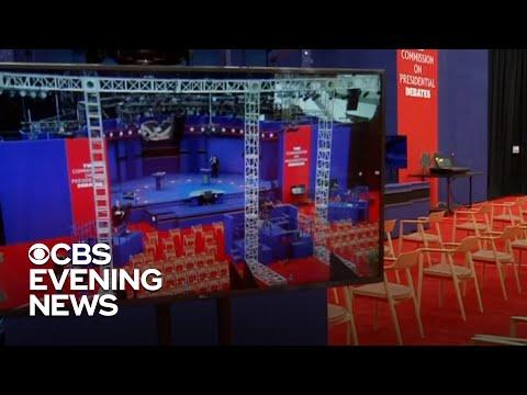 Trump and Biden face off in first presidential debate