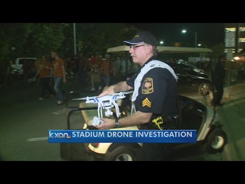 UT police say second drone was in use near stadium