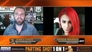 ufc 202 s randa markos talks courtney casey birthday cake paige vanzant vs bec rawlings