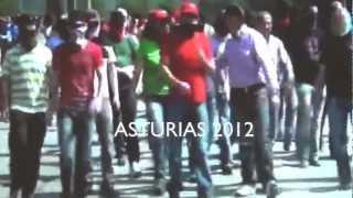 1934 Asturias 2012 !!  Así luchan los mineros contra legionarios y guardias civiles
