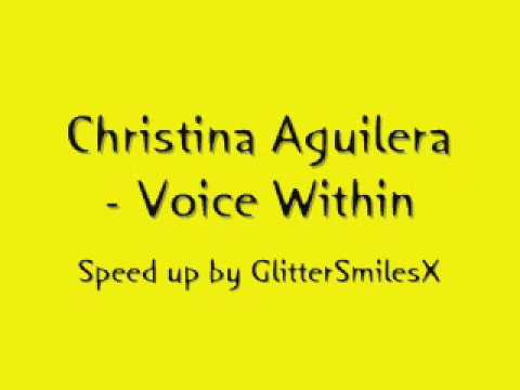 Christina Aguilera - Voice Within [Helium]