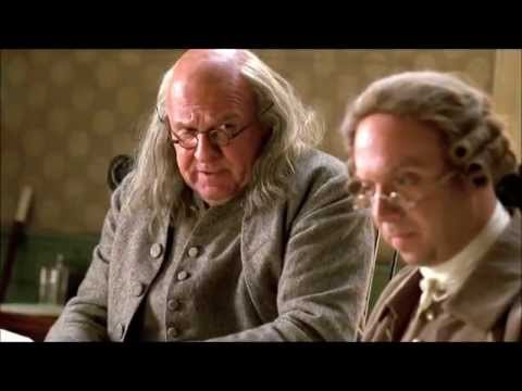John Adams - Writing The Declaration Of Independence (with Subs)