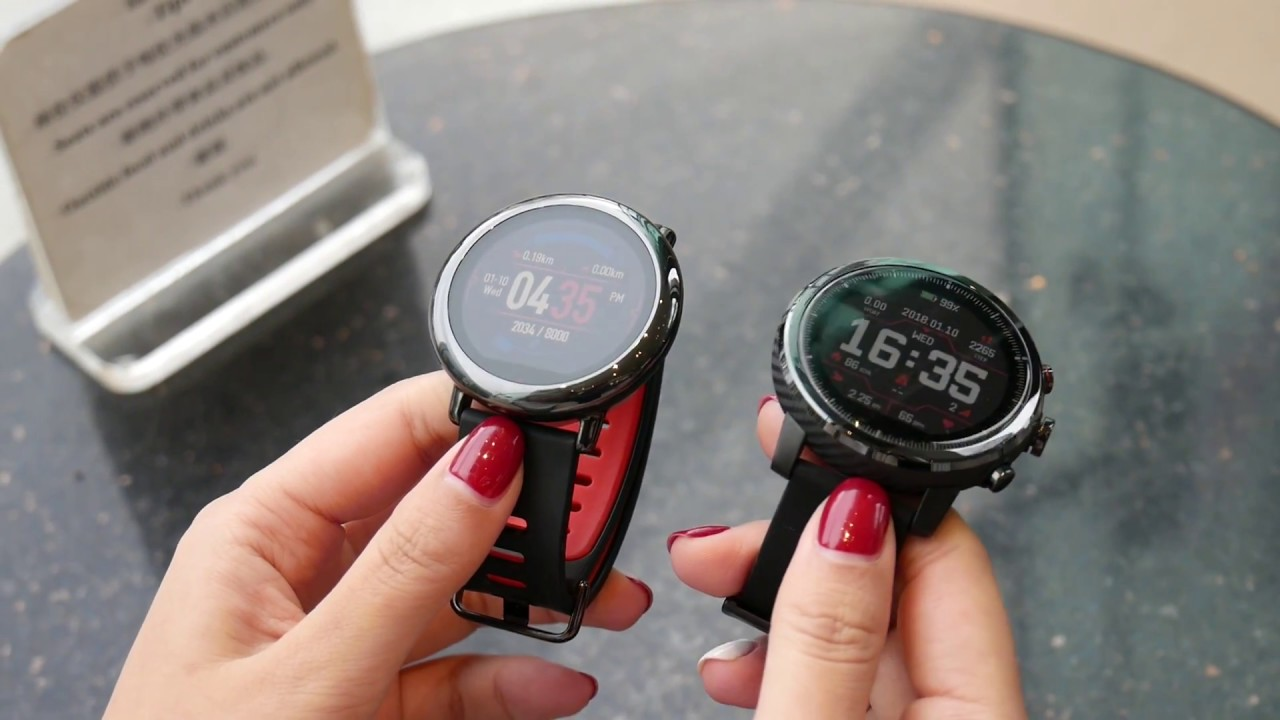 Garmin Tracking System >> Amazfit Stratos smartwatch does multisport tracking on a budget | GearOpen