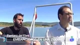 España Directo - Pantano del Ebro y empacando hierba en Servillas