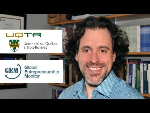 L'état de l'entrepreneuriat au Québec - Étienne St-Jean Ph.D. UQTR