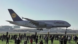 A380 - LOW PASS over heads