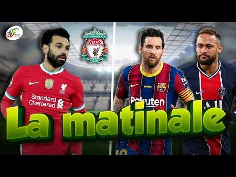 L'aveu de Salah sur sa situation à Liverpool..Messi risque de tout changer pour Neymar | MATINALE