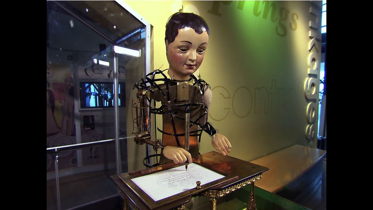 cbs sunday morning lost art of automatons alive again youtube