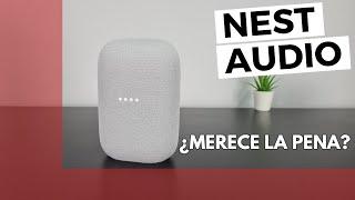 Google NEST AUDIO - Review en ESPAÑOL - Nuevo altavoz INTELIGENTE