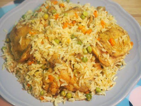 Как вкусно приготовить курицу с рисом