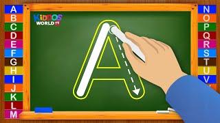 How to Write Letters for Children - Teaching Writing ABC for Preschool - Alphabet for Kids screenshot 3