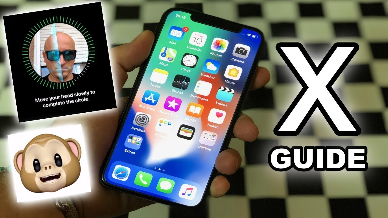 Iphone x a complete guide and tutorial new gestures face id iphone x a complete guide and tutorial new gestures face id animoji baditri Choice Image