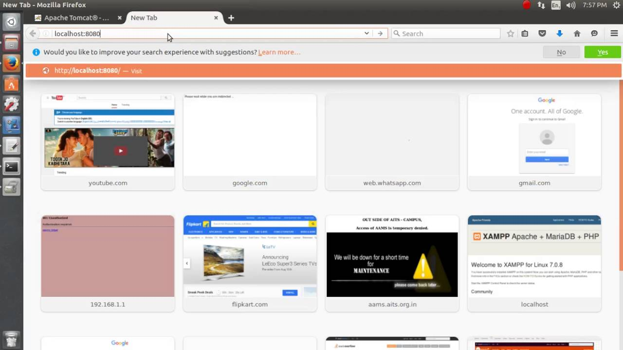 how to stop apache web server ubuntu
