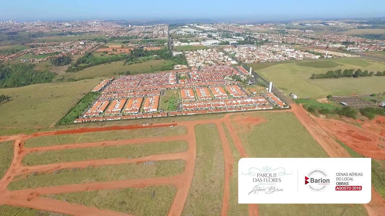 Parque das Flores -  Obras AGOSTO 2018