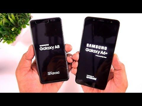 Samsung Galaxy A6+ vs Samsung Galaxy A8 2018 Camera & Speed Test  [Urdu/Hindi]