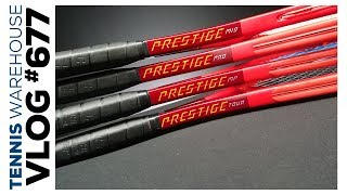 Head Graphene 360+ Prestige 2020 Line of Racquets Explained -- VLOG #677