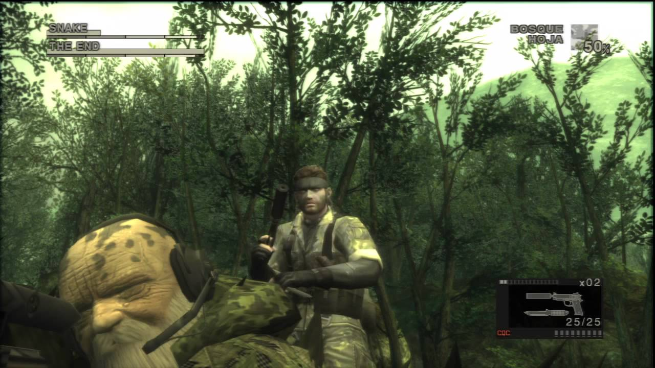 Metal Gear Solid 3 Hd Collection Secrets Hold Up The End
