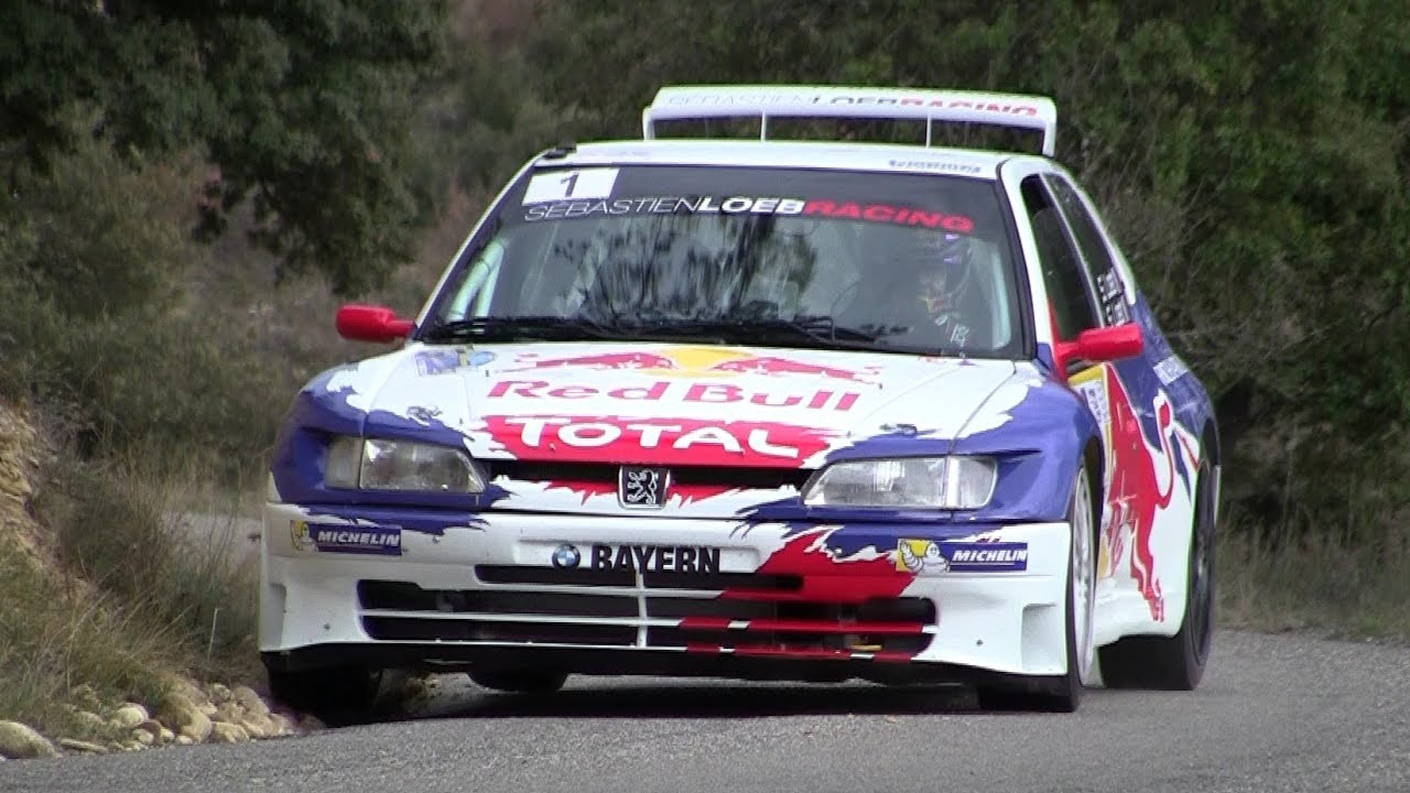 S bastien loeb 306 maxi flat out rallye haute provence for Interieur 306