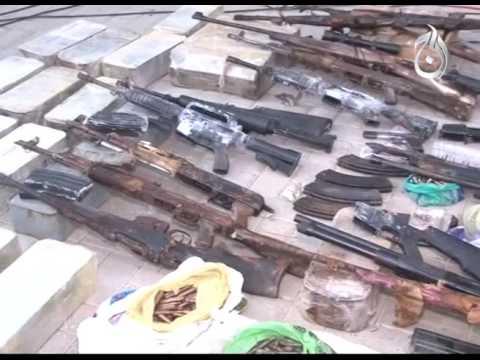 Karachi: Rangers seize huge cache of arms from safari park
